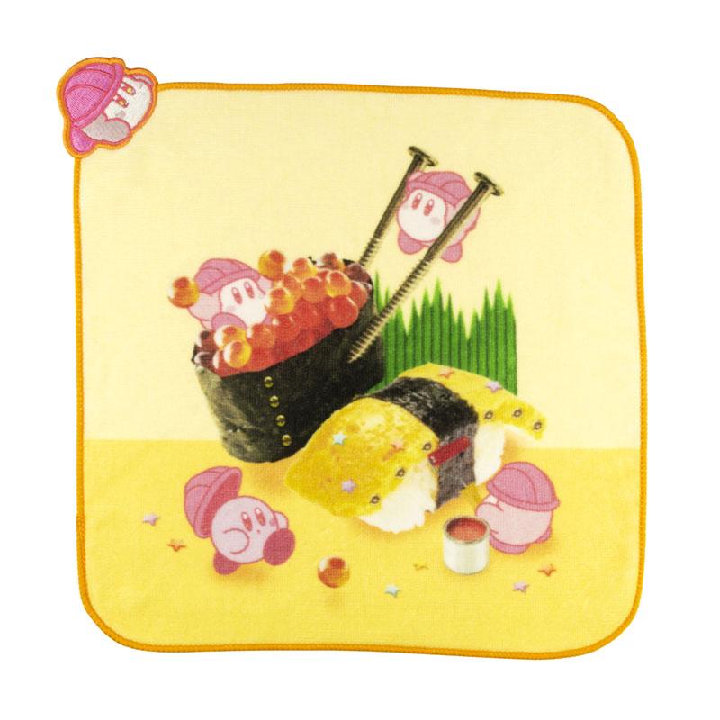 KIRBY's DREAM FACTORY カップケーキ型ミニタオル お寿司
