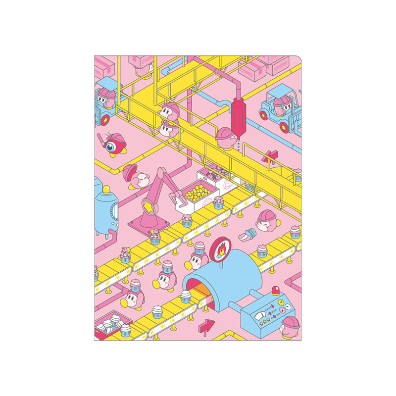KIRBY's DREAM FACTORY レターセット