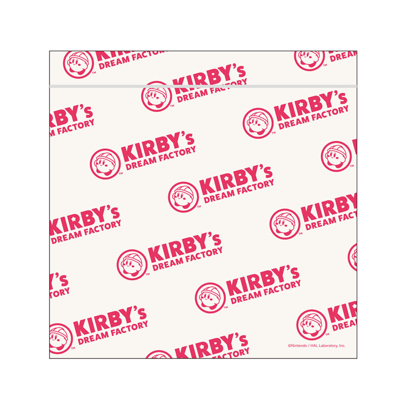 KIRBY's DREAM FACTORY ジッパーバッグ5枚入り ロゴ
