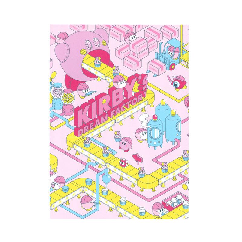 KIRBY's DREAM FACTORY ミニポスターカード ファクトリー