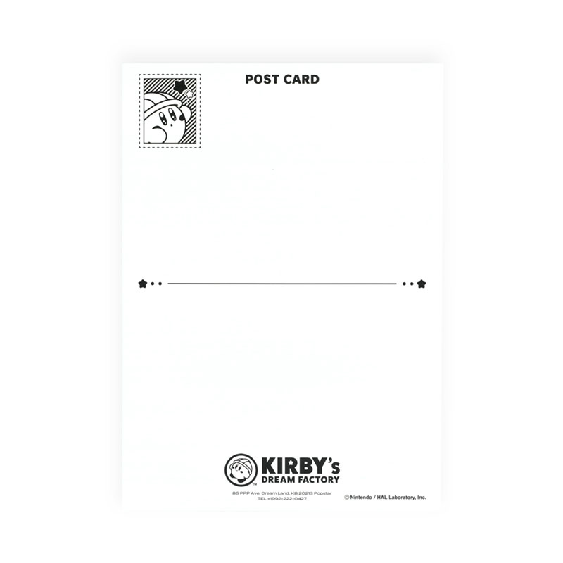 KIRBY's DREAM FACTORY ミニポスターカード ケーキ