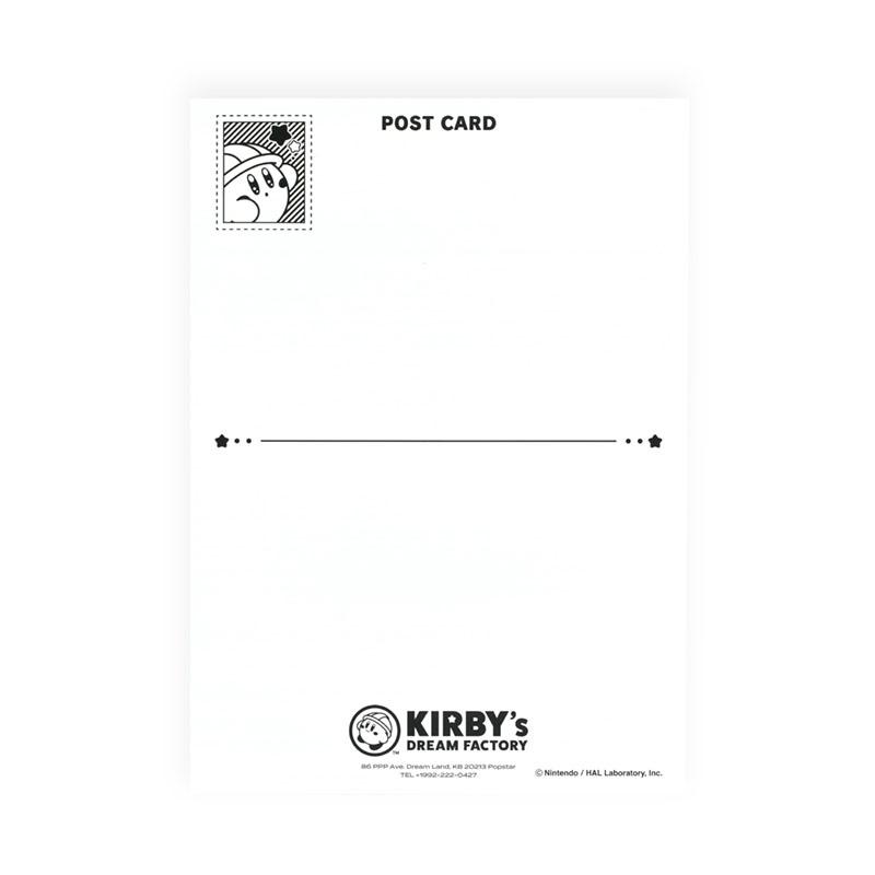 KIRBY's DREAM FACTORY ミニポスターカード クリームソーダ