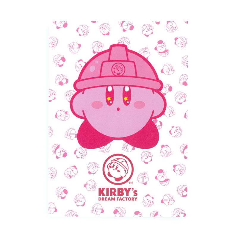 KIRBY's DREAM FACTORY ミニポスターカード カービィ