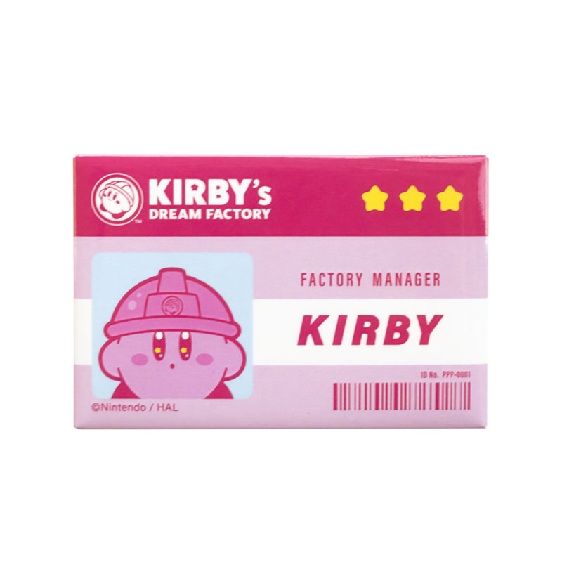 KIRBY's DREAM FACTORY 缶バッジ 2個セット