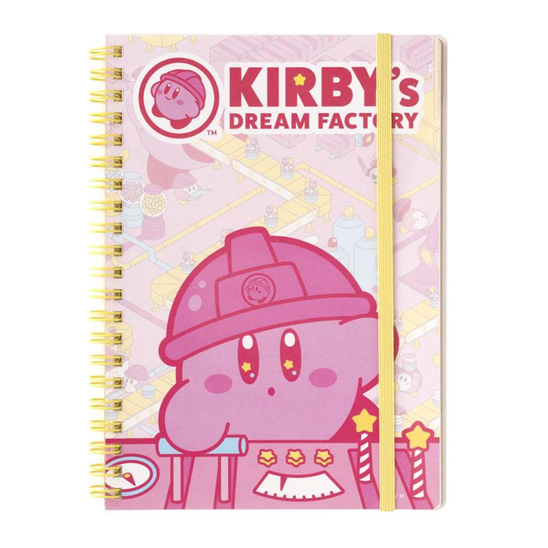 KIRBY's DREAM FACTORY B6リングノート メインビジュアル