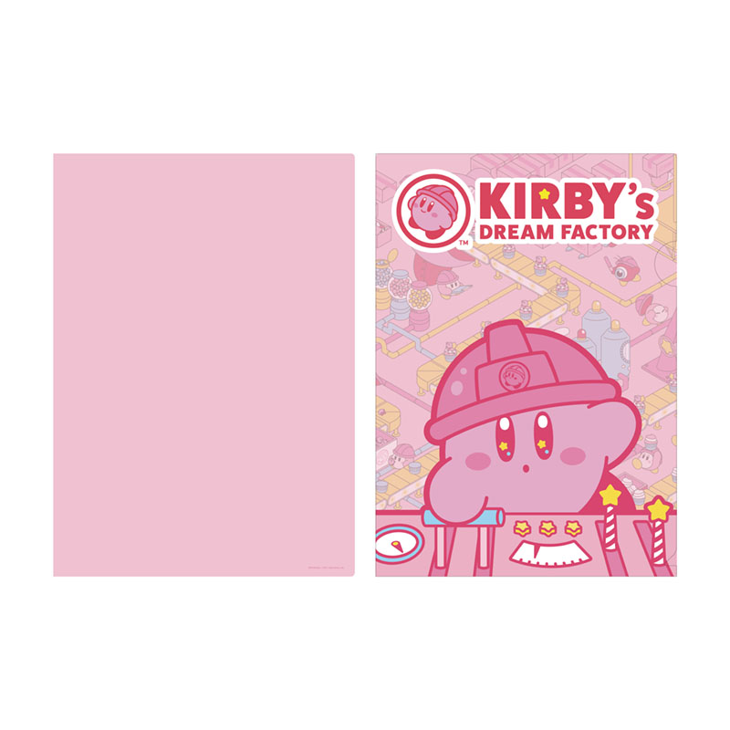 KIRBY's DREAM FACTORY A4クリアファイル メインビジュアル