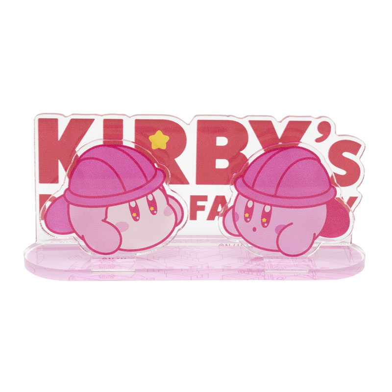 KIRBY's DREAM FACTORY アクリルスタンド カービィ&ワドルディ