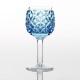 薄瑠璃被七宝文丸形食前酒杯 (うするりぎせ しっぽうもん まるがたしょくぜんしゅはい)