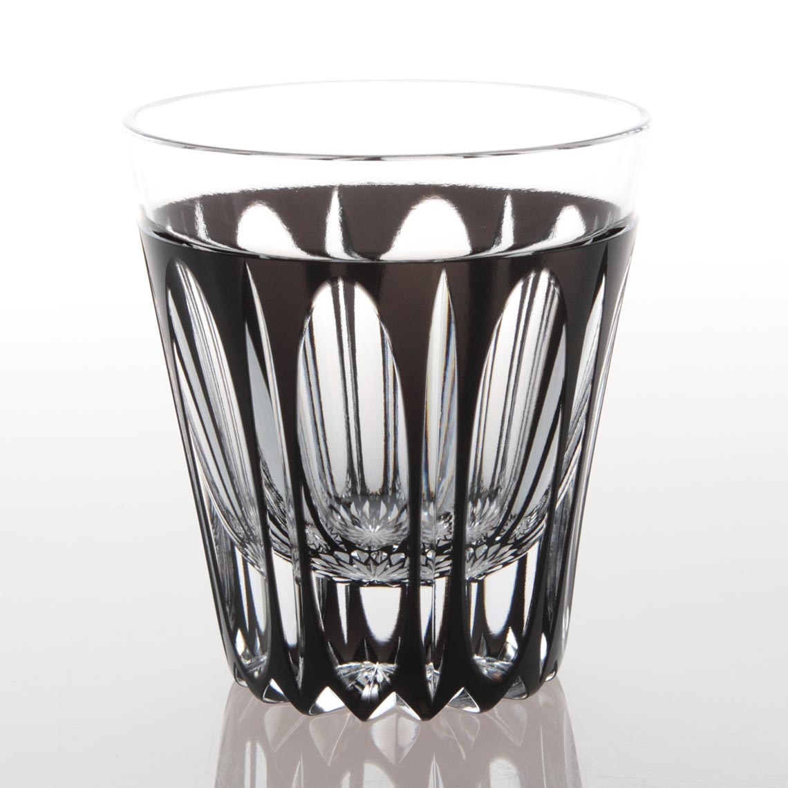 黒被万華様ロックグラス (くろぎせ まんげよう ろっくぐらす)