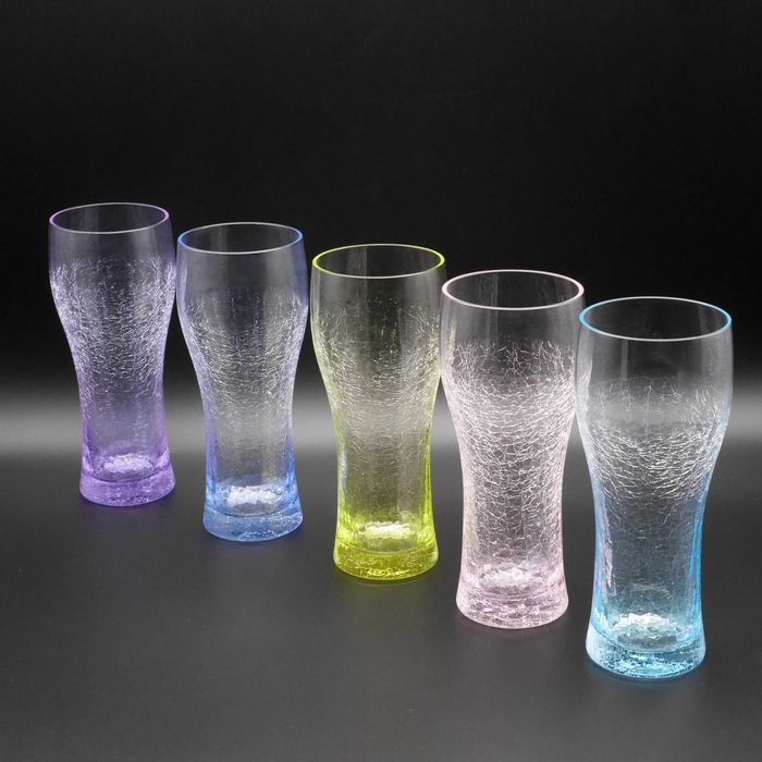 氷の華 ビアグラス