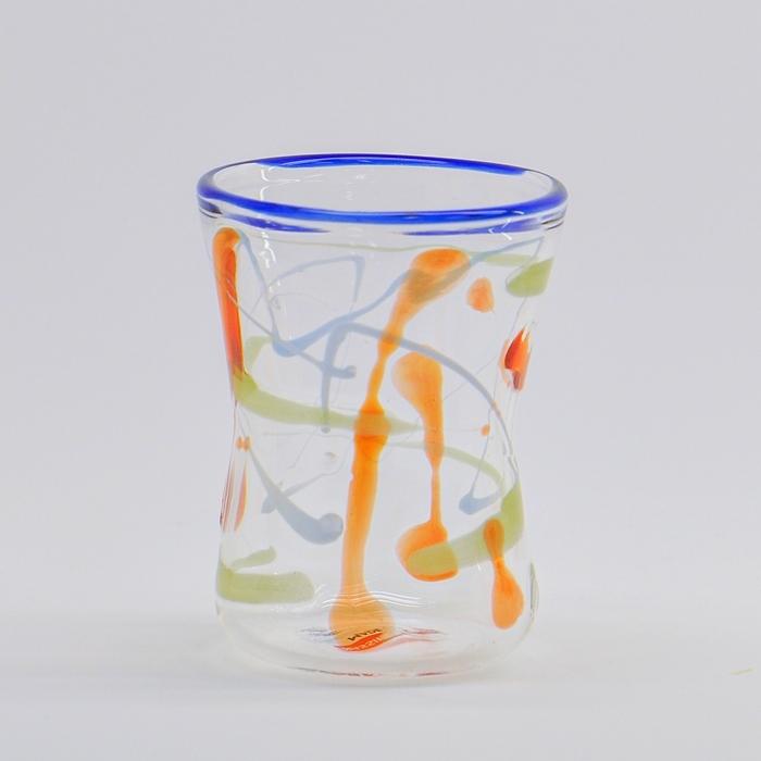 マッシモ・ルナードン作品 耐熱性グラス ペアE(ギフトボックス付)