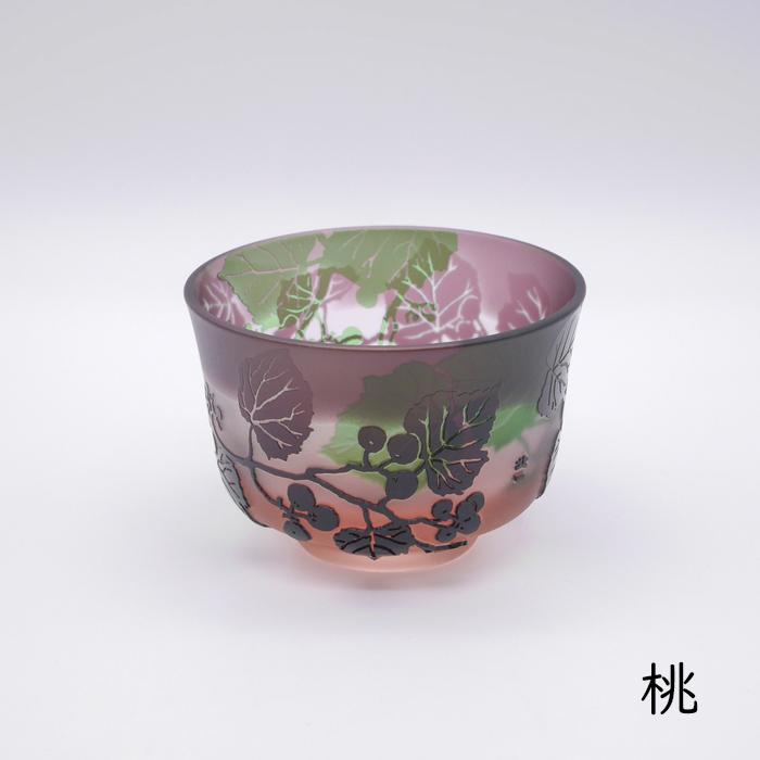 三色重ね 野葡萄 冷茶碗