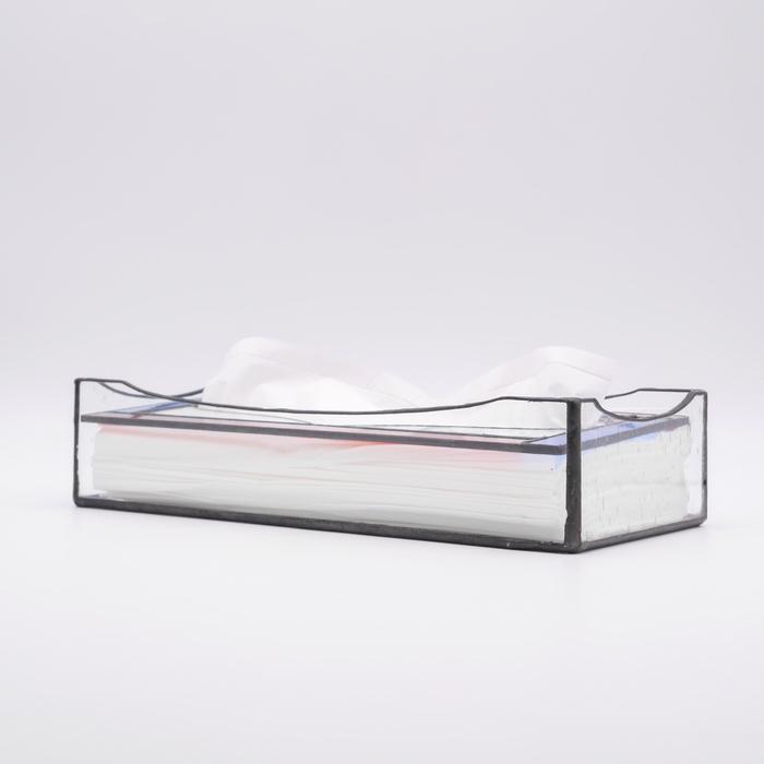 ステンドグラス ティッシュケース