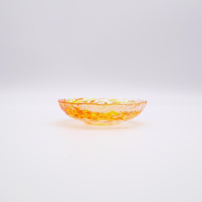 新風彩 豆皿
