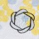 ステンド花型コースター