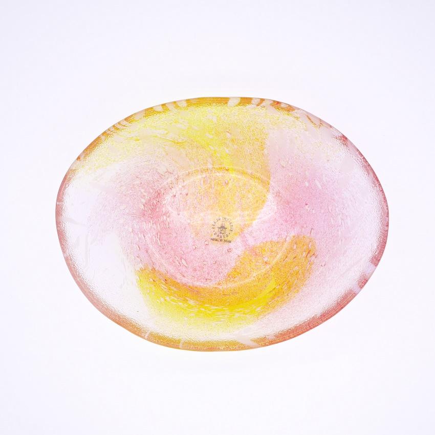 花ふぶき 楕円鉢新