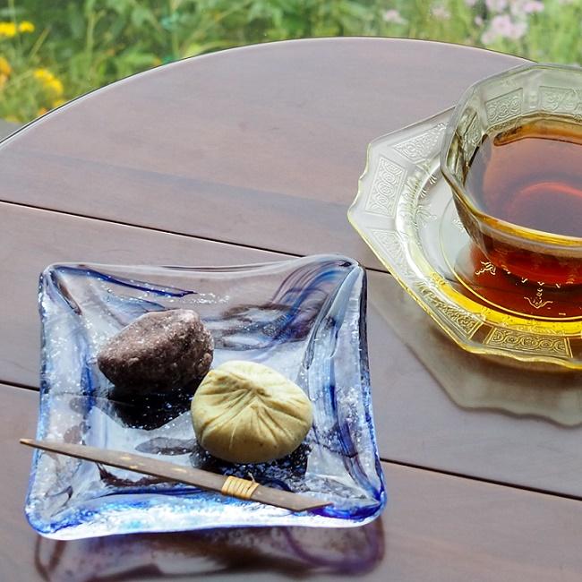 綺羅 角皿(小)
