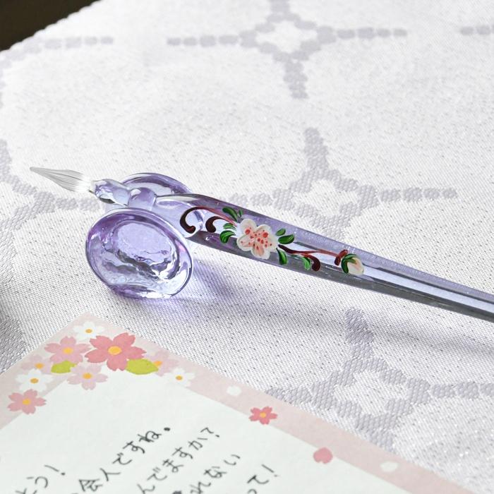 春限定 桜ガラスペン アレックス