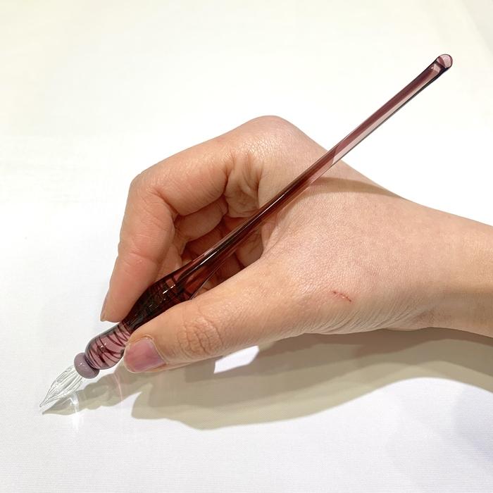 ガラスペン ブラックベリー A