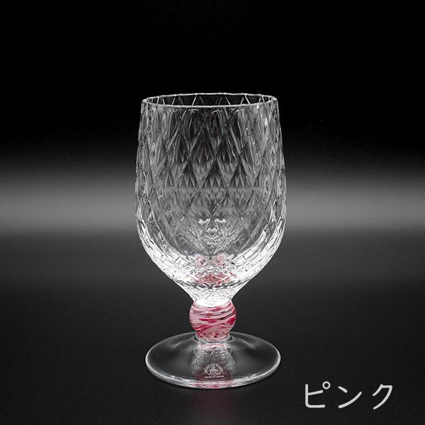 バルーンワイングラス ダイヤ