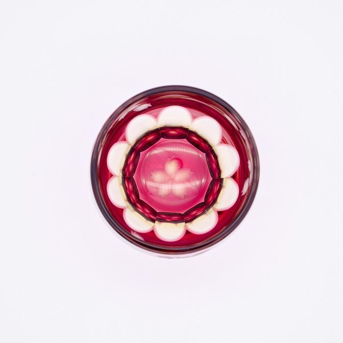ミラーカット桜 ショットグラス