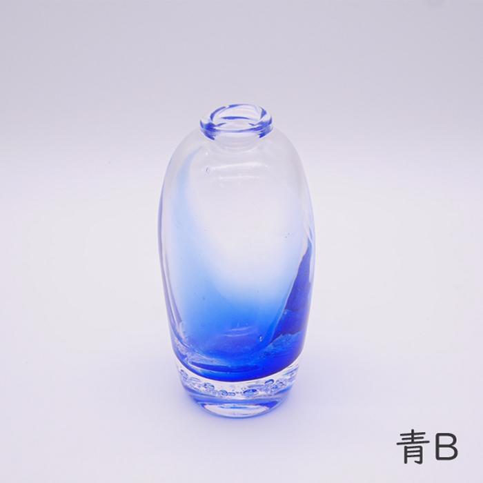 花器ブライト 青