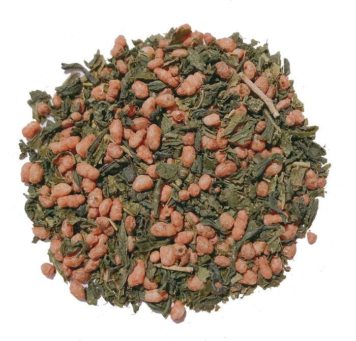 有機栽培茶入り玄米茶 100g
