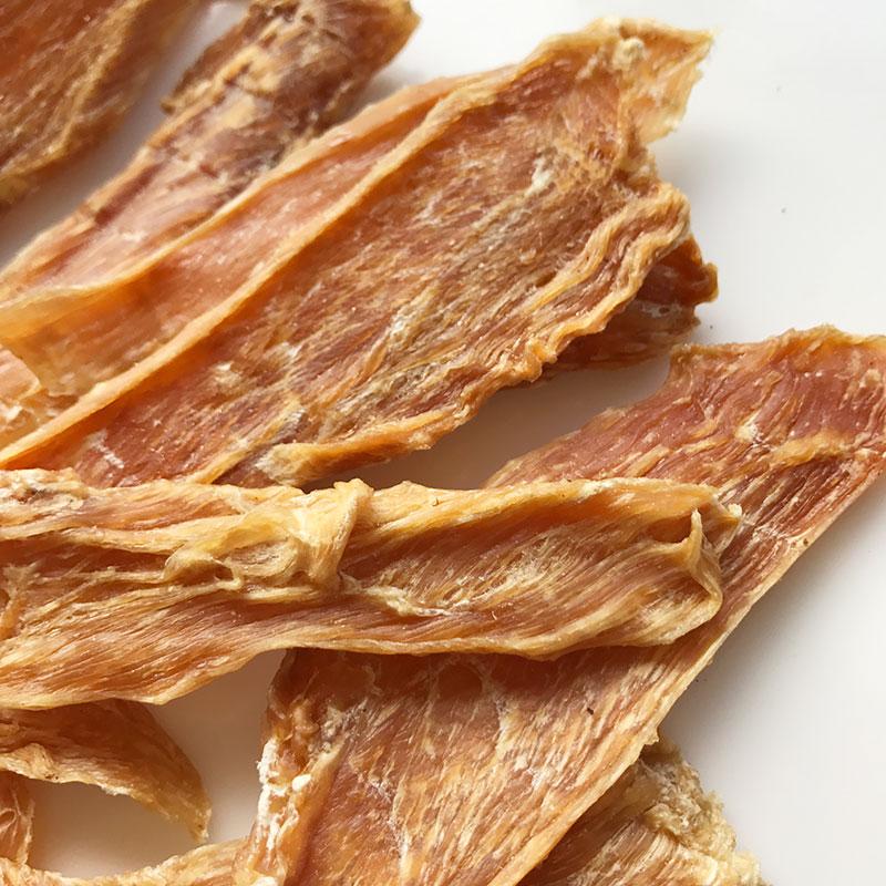 ◆丹波地鶏胸肉の干し肉