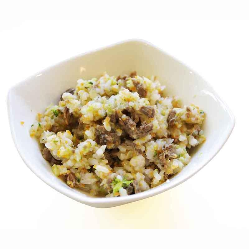 ◇冷凍ごはんシリーズ:馬肉と野菜のソテーごはん