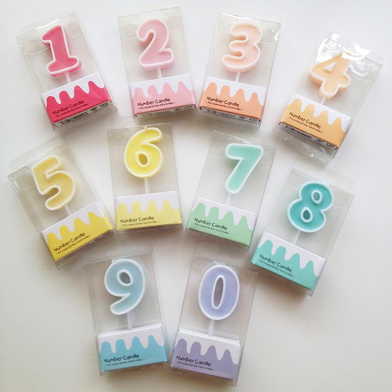 Number Candle 9【ナンバーキャンドル 9】