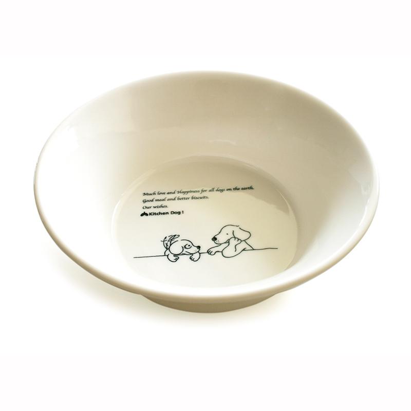 Dog Bowl Large【森修焼 ドッグボウル L】