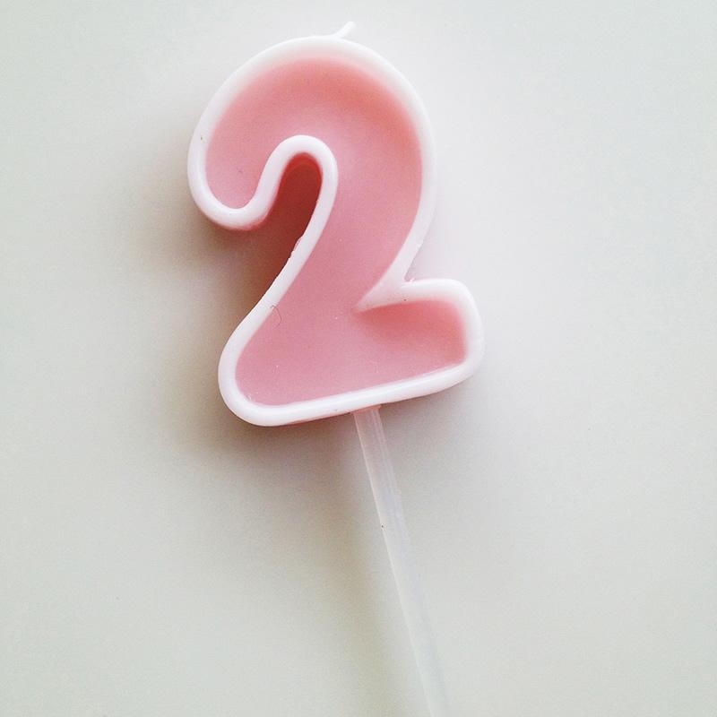 Number Candle 2【ナンバーキャンドル 2】