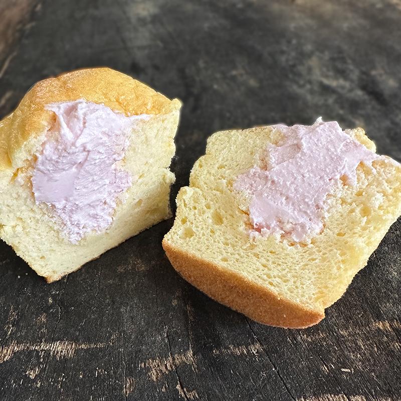 ■モッツァ・チーズ蒸しパン