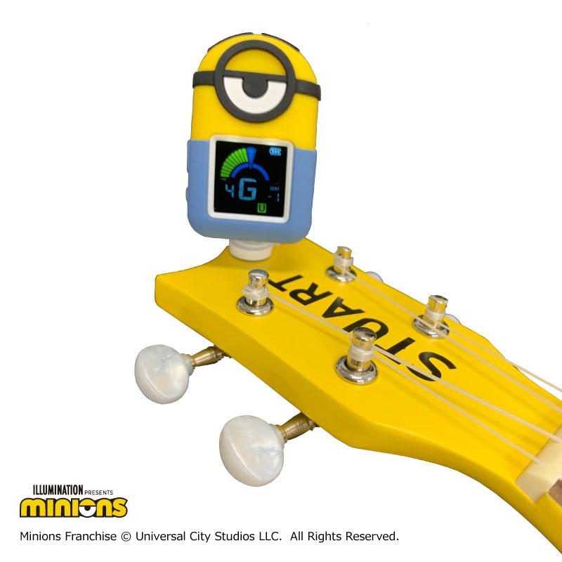 【KIWAYA】TUNER MINIONS TM-877(充電式クリップチューナー)
