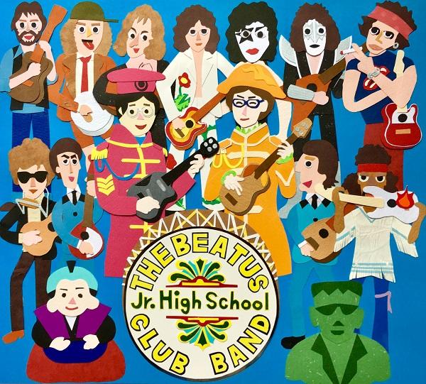 【THE BEATUS!/勝誠二・成相博之/CD】2ndアルバムJr.High School Club Band サイン入り※ネコポス対応商品