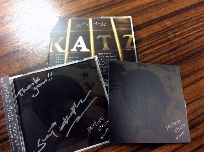 【勝誠二/CD】7th album perfect circle  (サイン入り)※ネコポス可