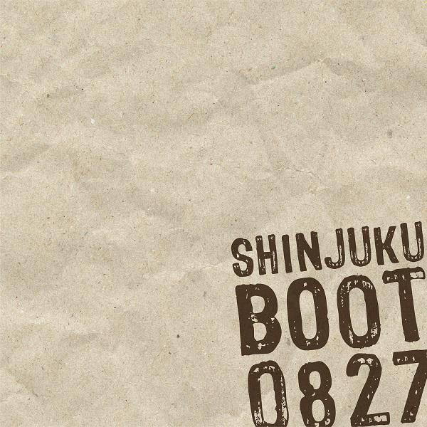 【勝誠二/CD】SHINJUKU BOOT 0827 (サイン入り)※ネコポス対応商品