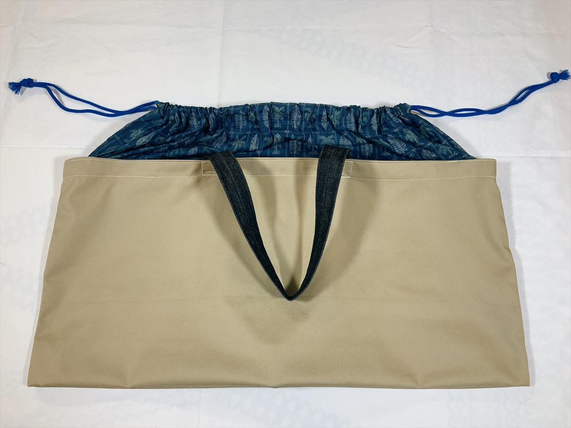 【MIYABI ウクレレトート】 横長トートバッグ #577