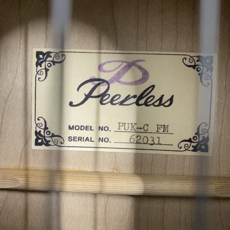 【Peerless】PUK-C FM/Hibiscus-Red #62031 コンサートサイズ