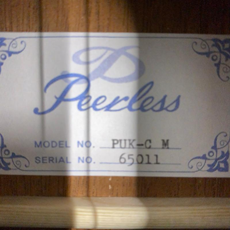 【Peerless】PUK-C M PT #63042 コンサートサイズ