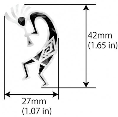 【ウクレレ用ステッカー】ココペリ ※ネコポス対応商品