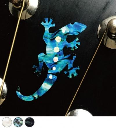 【ウクレレ用ステッカー】リザード(3色) ※ネコポス対応商品