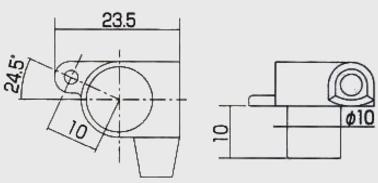 GOTOH製 ギアペグ D-2