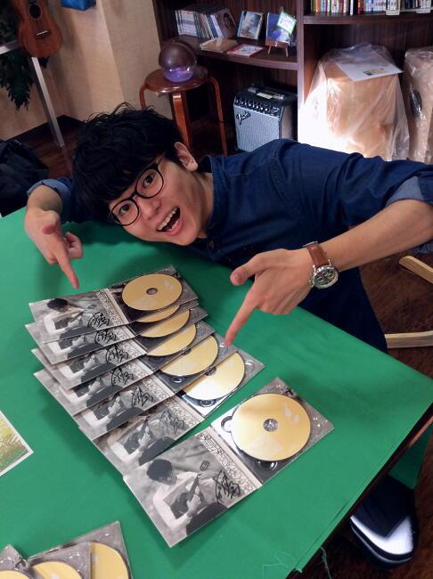 【鈴木智貴 /1st フルアルバム】 Letter from...  サイン入り  ※ネコポス対応商品