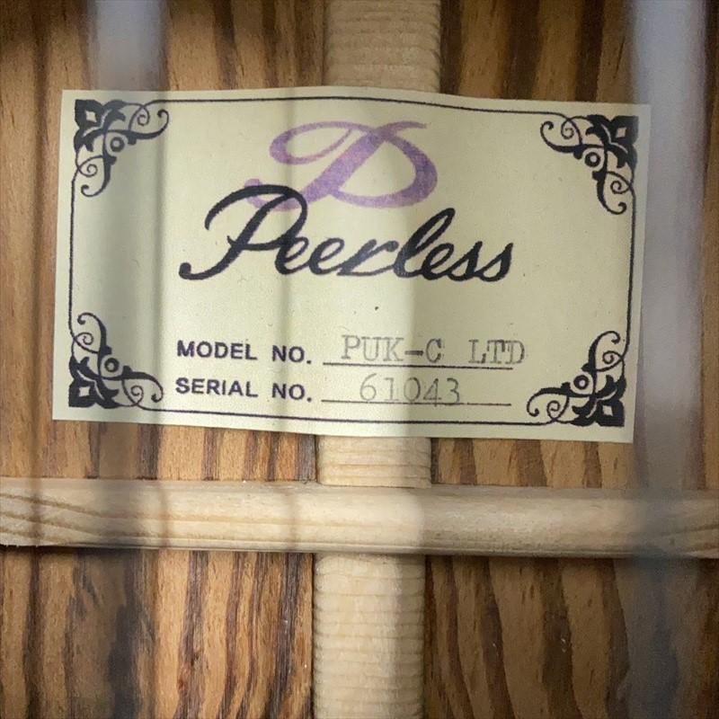 限定モデル【Peerless】PUK-C LTD 松(マツ) コンサートサイズ