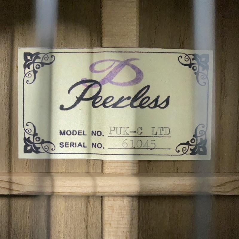 限定モデル【Peerless】PUK-C LTD (タモ材) コンサートサイズ