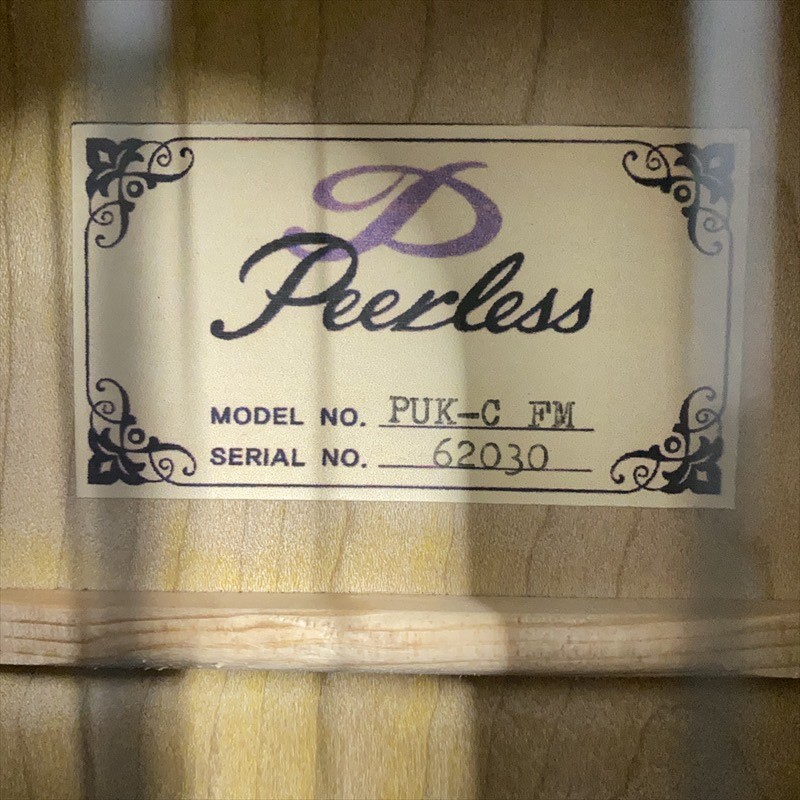 【Peerless】PUK-C FM/Honey-Gold #62030 コンサートサイズ