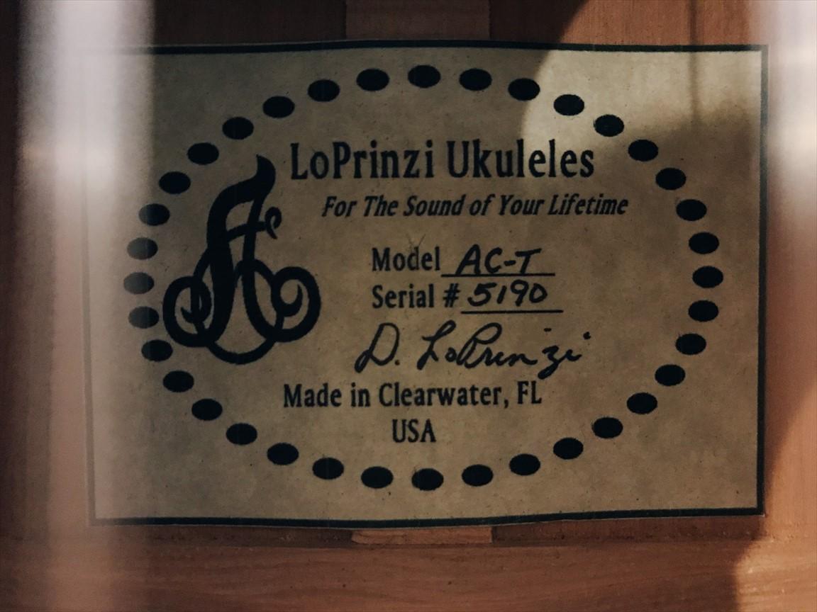 【LoPrinzi 】LP-AC-T #5190 テナーサイズ