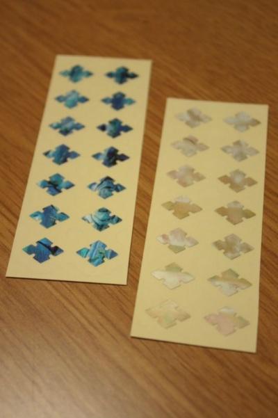 【ウクレレ用ステッカー】指板用 ダイヤモンド (2色) ※ネコポス対応商品