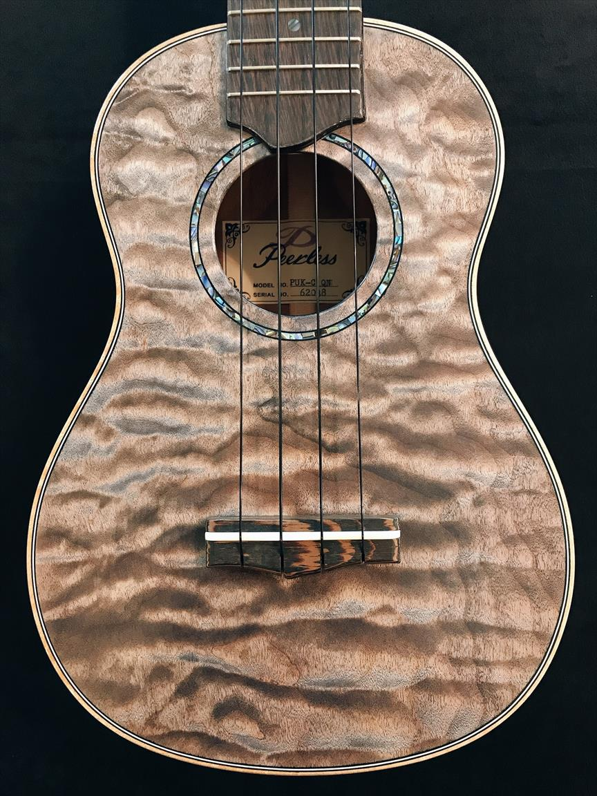 【Peerless】PUK-C QN Silver-toned Maple #62038 コンサートサイズ